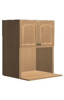 "30"" x 36"" Microwave Cabinet - Gagetown Mocha"