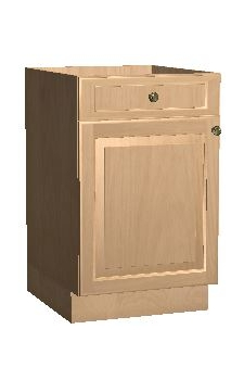 "24"" Base Cabinet - Winter Shaker"