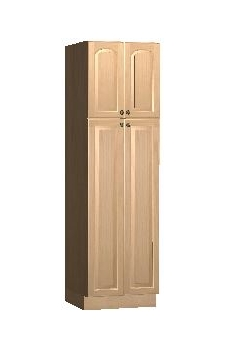 "24"" x 84"" Utility Cabinet - Yorkshire Cherry"