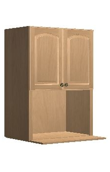 "30"" x 42"" Microwave Cabinet - Gagetown Mocha"