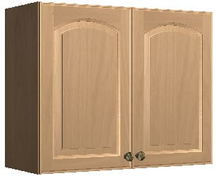 30 x 24 wall cabinet salem cherry blue water for Kitchen cabinets 30 x 24